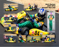 Kart Racing Collages